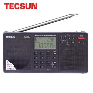 Image 1 - Tecsun PL 398MP wieża Stereo portatil AM FM pełnozakresowy cyfrowy Tuning z ETM ATS DSP dwa głośniki odbiornik odtwarzacz MP3
