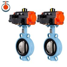 Dn150 Pneumatic Sanitary Valve Solenoid Butterfly Valve made in china pneumatic solenoid valve sy3220 4lze m5