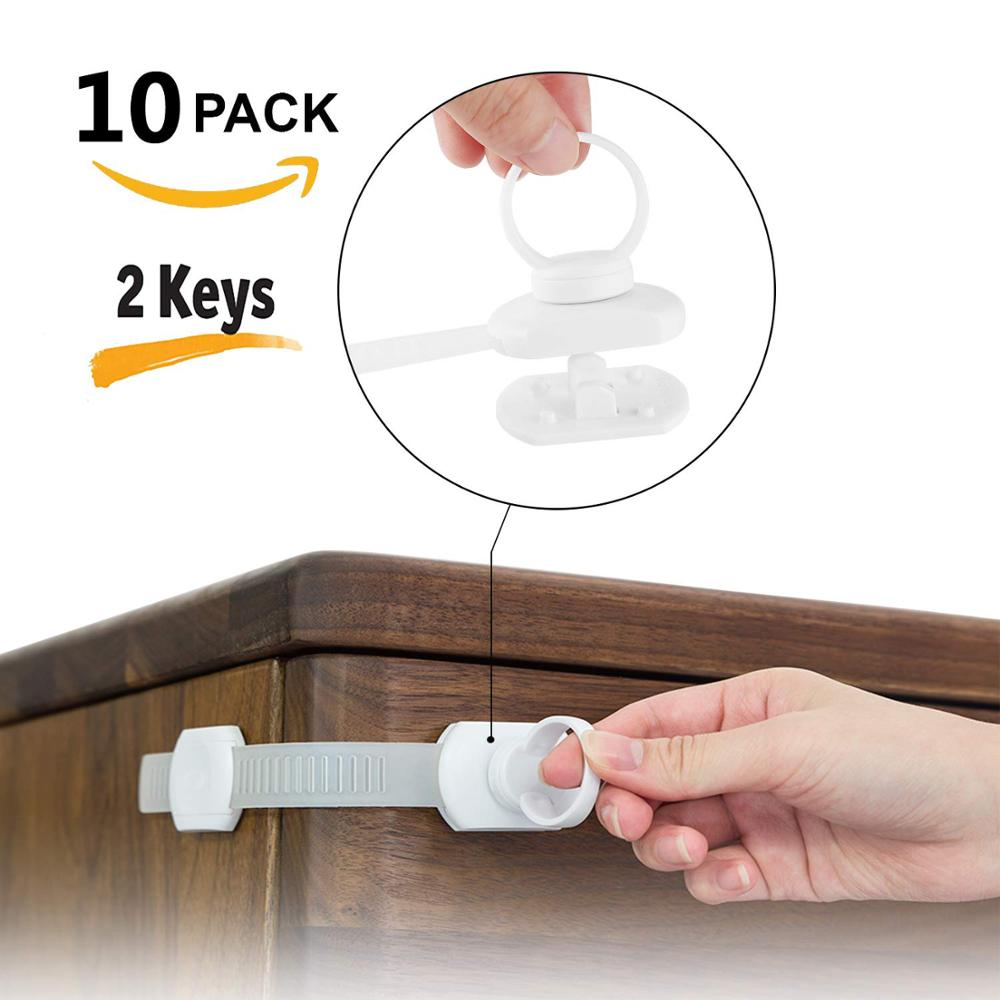 Child Magnetic Lock Kid Drawer Door Refrigerator Cabinet Cupboard Lock Baby Protection Safety Lock Children Security Products