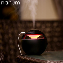 New Aroma Essential Oil Diffuser Night Elf Humidifier 450ml Air Purifier LED Night Light USB Mini Fogger Car humidifiers цены онлайн