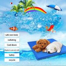 2020 New Dog Cooling Mat Pet Ice Pad Teddy Mattress Pet Cool Mat Bed Cat Cushion Summer Keep Cool Pet Cooling Dog Mat For Dogs