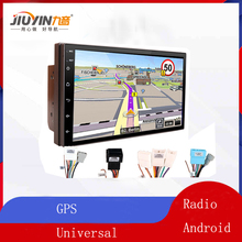 Buy JIUYIN 2Din Android 8.1 Car Radio Touch Screen 7 Inch Multimidia Bluetooth MP5 Player  Autoradio Universal GPS Navigation WIFI directly from merchant!