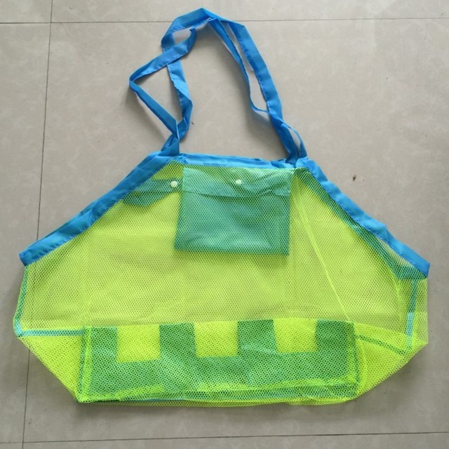 Outdoor Children's Beach Toys Quick Storage Bag Digging Sand Tool Clutter Storage Bag Foldable Portable Beach Bag Swimming Bag 5