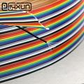 EClyxun ЦВЕТНОЙ кабель  1 метр 40C x 7P x 0 1 мм DuPont кабель для передачи данных луженая медная проволока