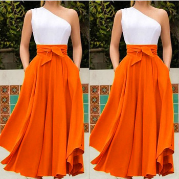 Off One Shoulder Women Dress