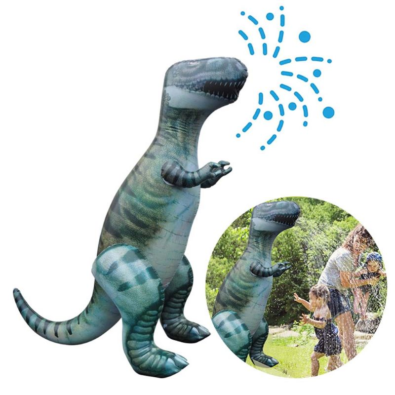 Inflatable Dinosaur Squirt Water Toys For Children Summer Swimming Pool Beach Garden Outdoor Game Water Spray Dinosaur Catalogues Will Be Sent Upon Request