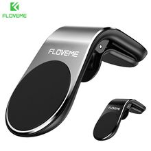 FLOVEME Car Phone Holder For your mobile phone In Support magnetic holder for soporte movil coche Telefone