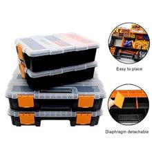 Большой набор инструментов органайзера бытовой ремонт электрик инструмент коробка для хранения многофункциональный ABS аппаратный ремонт автомобилей анти-падения коробка