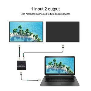 Image 3 - مقسم الوصلات البينية متعددة الوسائط وعالية الوضوح (HDMI) 2x1 1x2 UHD 4K ثنائية الاتجاه HDMI 2.0 التبديل الجلاد الفاصل محور ل PS4/3 صندوق التلفزيون HDCP ثلاثية الأبعاد HDTV محول محول