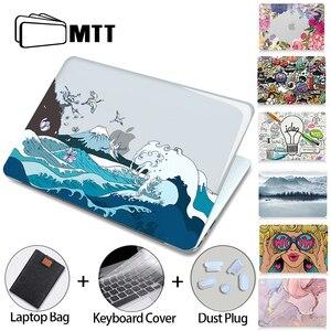 Image 1 - MTT Crystal Case dla Macbook Air Pro 11 12 13 15 16 cali z dotykowym ID 2020 plastikowa twarda okładka torba na laptopa a2289 a2251 a2179