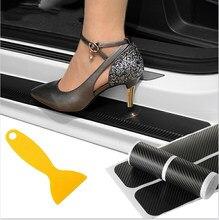 Защитная Наклейка на порог автомобиля, защита кромок двери для Peugeot 3008 208 308 508 408 2008 307 4008 Traveller Expert
