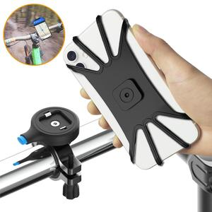 Image 2 - Universal Bicycle Phone Holder Motorcycle Bike Handlebar Mount for Smart Phone for iPhone 11 Pro Max XS Xr X SE2 Samsung Xiaomi