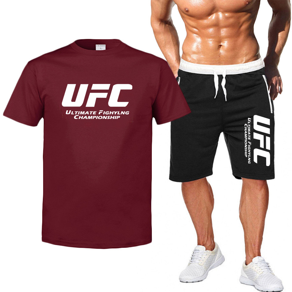 2020 Men's Sets T Shirts+pants Two Pieces Sets Casual Tracksuit Men/Women New Fashion Printing Suits Sportwear Gyms Trousers