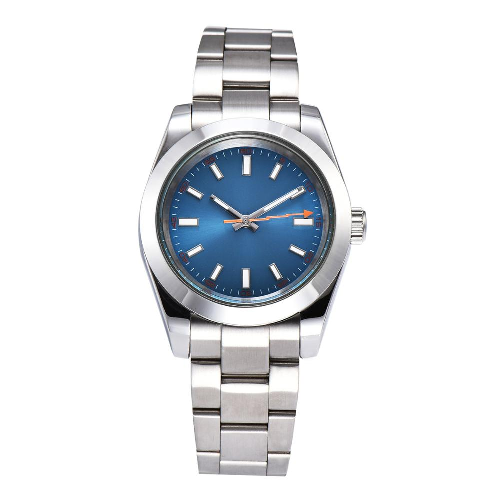 watch men automatic mechanical watch Luminous waterproof 316L Solid stainless steel 40MM LLS88