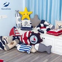 Подушка в средиземноморском стиле подушка для дивана детская