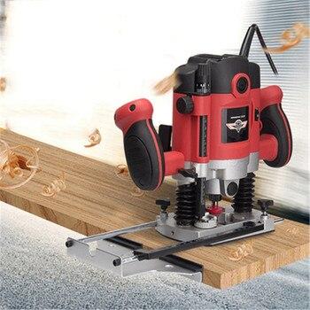 Máquina de corte de orificios Para carpintería, herramientas de grabado ranurado, herramientas...