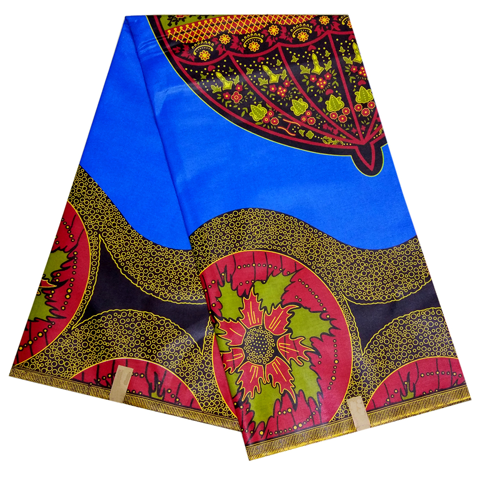 100% Cotton African Fabric Ankara Nigeria Real Veritable Wax Print 6 Yards African Print Fabric For Dress