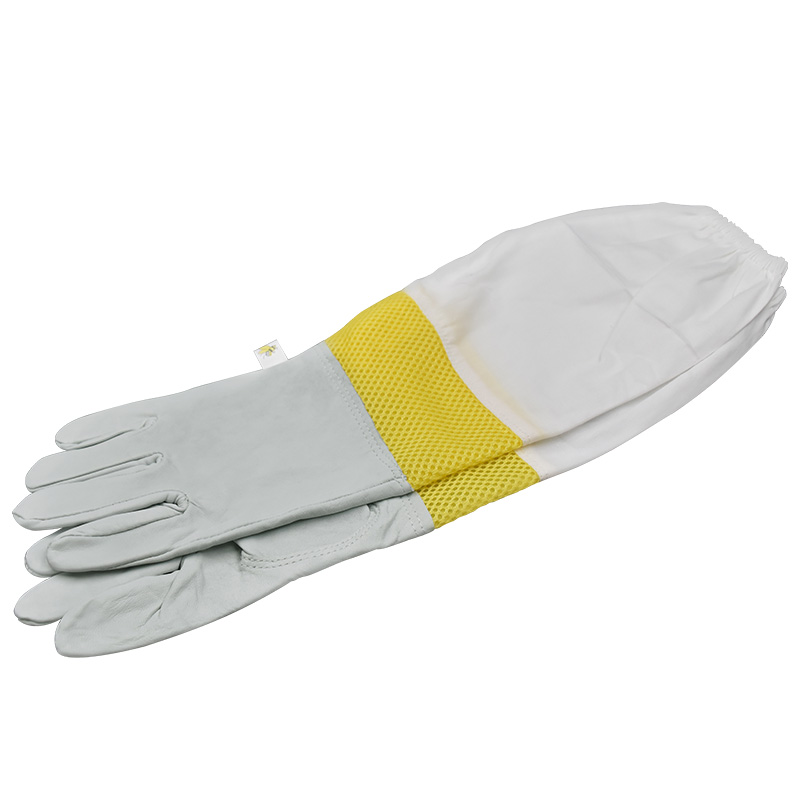 Beekeeping Gloves Protective Sleeves Sheepskin And Cloth Bee For Apicultura  Beekeeping Gloves