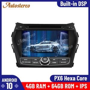 Image 2 - Android 10.0 For Hyundai Santa Fe IX45 2014 2018 Car DVD Player 64GB GPS Navigation Auto Radio Stereo HeadUnit Multimedia Player