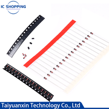 100 PCS Switching Diode 1N4148 IN4148 Switch Tube Direct DO-35 1N4148WS IN4148WS B5819WT 1N5819W IN5819 0603 0805 1206 SOD123