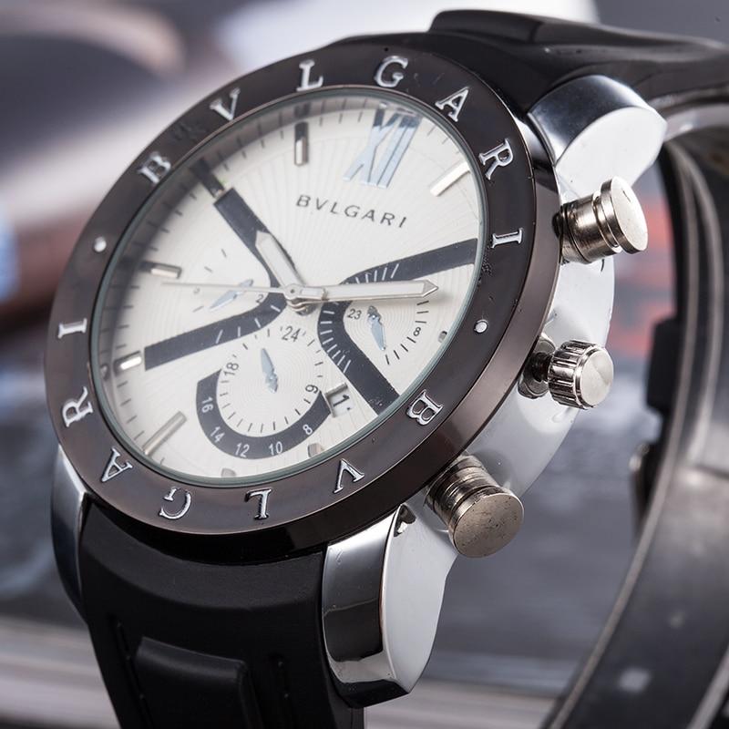 BVLGARI  Men Quartz Watch fashion Gift gold Casual Waterproof watches Luxury brand watches reloj mujer marcas famosas|Women