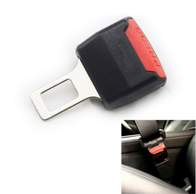 1 Pcs Car Seat Belt Clip Extender for Ford focus 2 and 3. fiesta, kuga, ecosport,Mazda 2 3 6 MX-5 Miata RX-8(China)