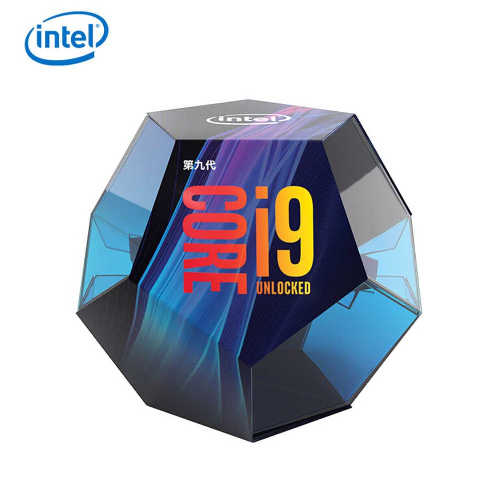 إنتل كور i9-9900K سطح المكتب المعالج 8 النوى يصل إلى 5.0 GHz توربو مقفلة LGA1151 300 سلسلة 95W جديد 100% الأصلي وحدة المعالجة المركزية