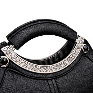 Image 5 - Bolso de mano con Concha a la moda para mujer, marcas famosas, de cuero, bandolera cruzada