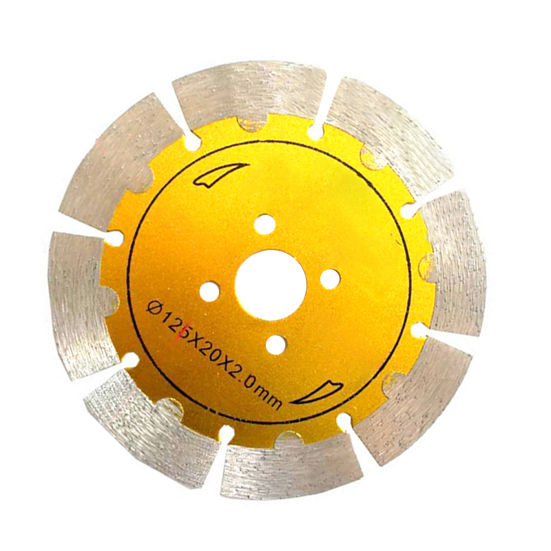 Thin 125mm Turbo Metal Alloy Tile Dry Cutting Disc Angle Grinder Discs / Blade