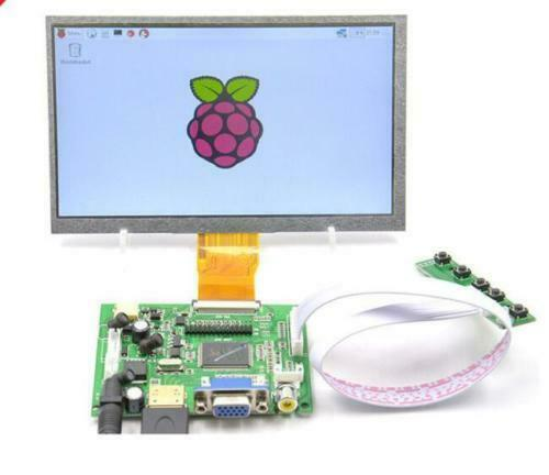 Image 2 - New 7 inch 8 inch 9 inch TFT LCD Display Module Screen Monitor with HDMI+VGA+2AV Driver Board for Raspberry Pi-in Demo Board Accessories from Computer & Office