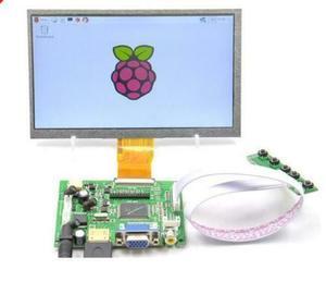 Image 2 - Nuovo 7 pollici 8 pollici 9 pollici TFT LCD Modulo Display Dello Schermo del Monitor con HDMI + VGA + 2AV Driver consiglio per Raspberry Pi