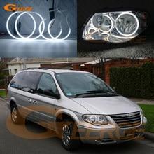 Для Chrysler Voyager Grand Voyager IV 2005 2006 2007 2008 отличный ультра яркий CCFL ангельские глазки набор колец