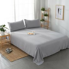 Decor Home Pure Color Brand Bed Sheets Textile Bedding Coverlet Flat Sheet Flower Cover Soft Warm sheets