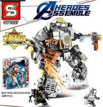 Marvel Avengers 4 Infinity War Endgame Building Blocks Super Hero Captain Buster Ultron Iron Man Toys For Children Kids