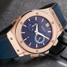 Unique Men Watch Analog Quartz Date Wristwatch Fashion Leather Strap Clock Sport Military Cool Male Relogio Masculino Uhr