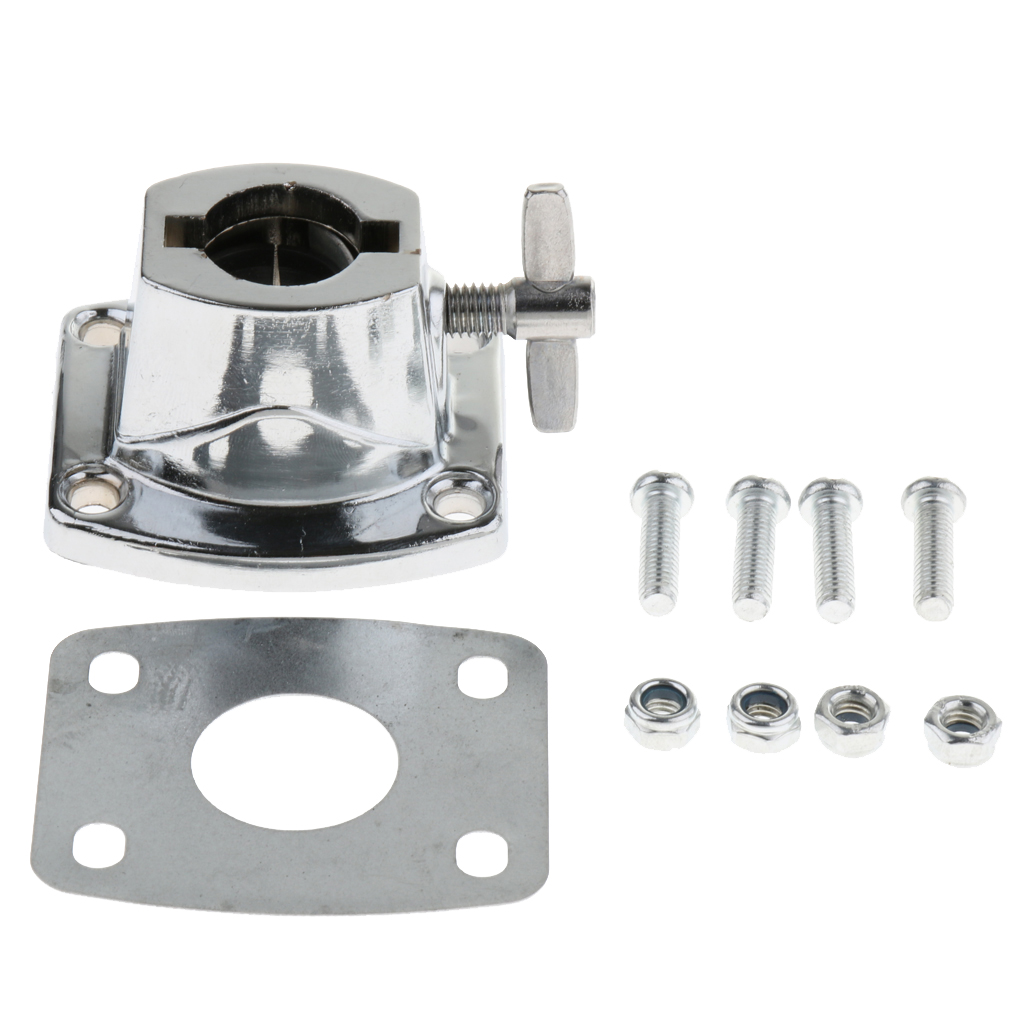 Chrome Floor Drum Leg Bracket For Bass Drum Replacement Accessory