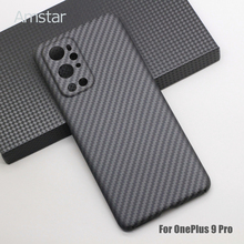 Amstar Real Carbon Fiber Protective Case for OnePlus 9 Pro 8 Pro 8T Ultra thin Anti fall Pure Carbon Fiber Phone Case Hard Cover
