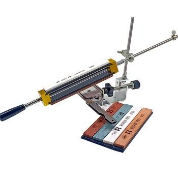 Mini Portable Professional kitchen knife sharpener sharpening system fixed angle Edge pro sharpener with 4pcs whetstone