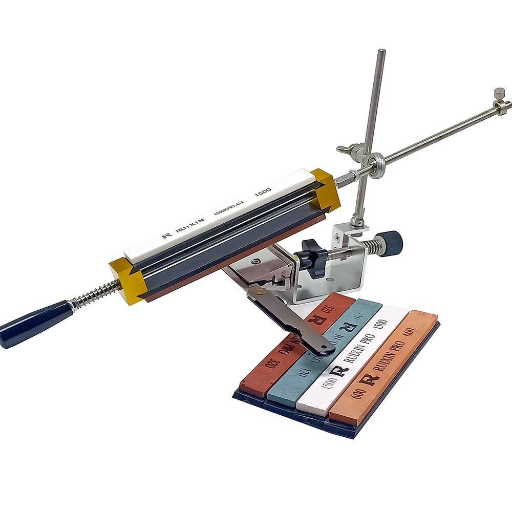Mini Portable Professional küche messer spitzer schärfen system festen winkel Rand pro spitzer mit 4 stücke schleifstein