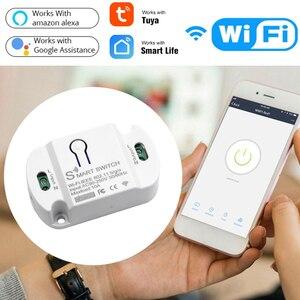 Image 1 - Smart Wifi Schakelaar Mini Diy Module Wifi Lichtschakelaar Draadloze App Afstandsbediening Schakelaar Smart Home Elektrische Schakelaars Voor Tuya