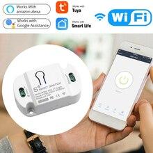Smart Wifi Switch Mini DIY Module Wifi Light Switch Wireless APP Remote Control Switch Smart Home Electrical Switches For Tuya