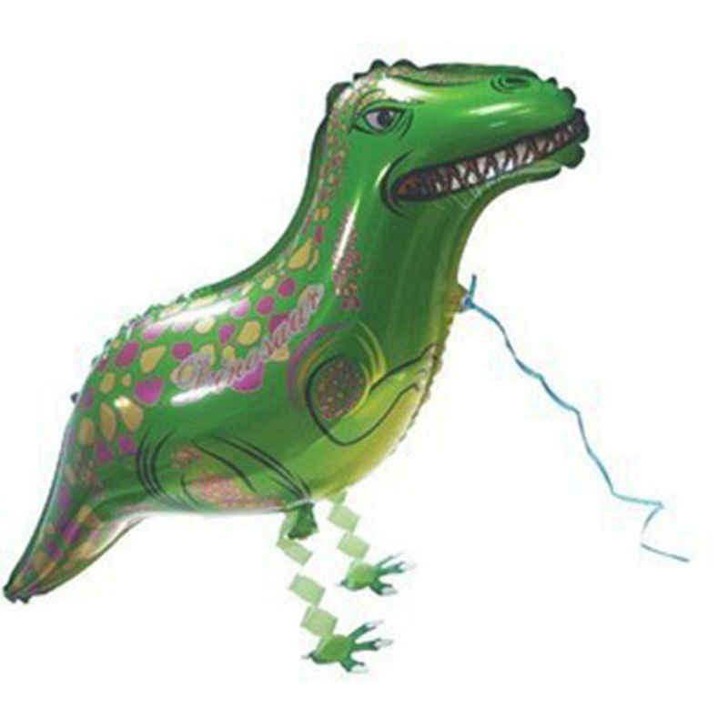 子供の誕生日パーティークラシックボールおもちゃ漫画恐竜バルーンインフレータブル気球の装飾箔バルーンギフト男の子のおもちゃ 1 個