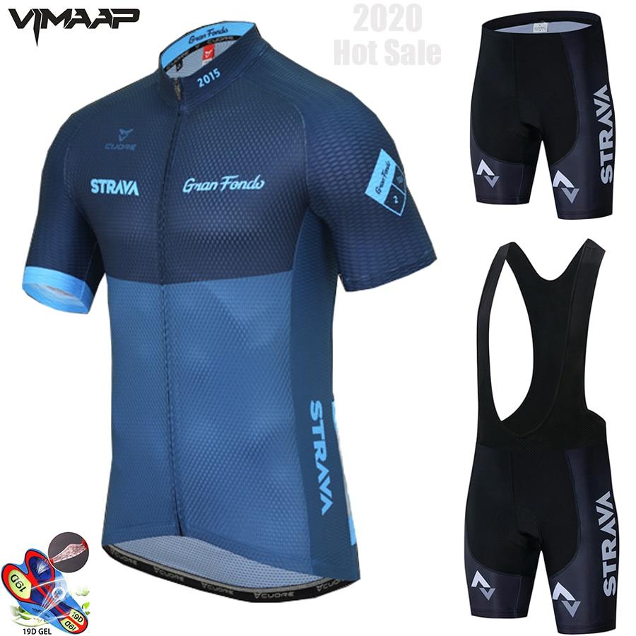 2021 профессиональная команда STRAVA Велоспорт Джерси 19D гелевые велосипедные шорты Костюм MTB Ropa Ciclismo мужская летняя одежда для велоспорта