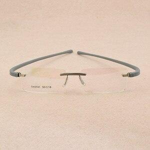 Image 3 - TAG Hezekiah Brand eyeglasses rimless men Women Myopia Optical Glasses Frame oculos de grau lunette de vue lunette de vue femme