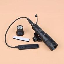 M300V lumière tactique arme légère Wihte sortie de lumière constante/momentanée/stroboscopique lampe de poche commutateur à distance pour la chasse 20mm Rail