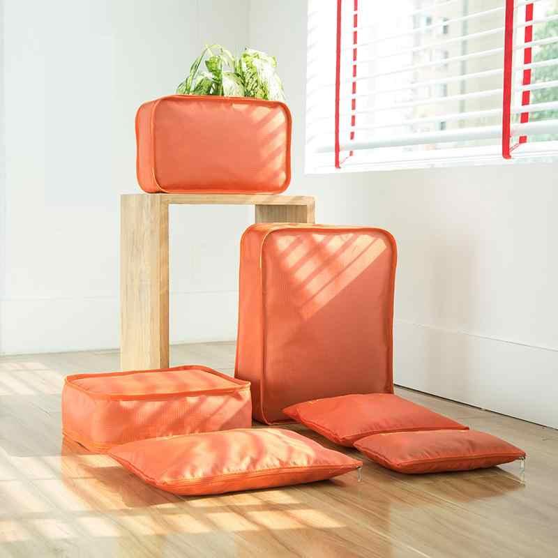 Дорожная сумка для хранения одежды упаковка нейлоновая домашняя дорожные сумки