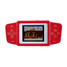 Coolbaby 2.5 인치 RS 33 미니 휴대용 게임 플레이어 내장 268 클래식 게임 핸드 헬드 콘솔 8 비트 LCD 다채로운 화면
