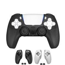 جراب سيليكون غير قابل للانزلاق لوحدة تحكم PS5 ، مع أغطية عصا تحكم لاسلكية لجهاز Playstation 5 ، 2020