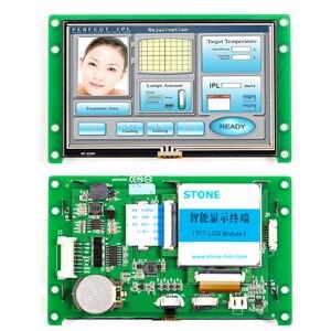 4,3-дюймовый интерфейс машины Huamn с программируемым контроллером и сенсорным экраном для промышленного управления