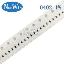 100pcs 0402 1% SMD resistor 1/16W 14.7R 15R 15.4R 15.8R 16R 16.2R 16.5R 16.9R 17.4R 14.7 16 15 15.4 15.8 16.2 16.5 16.9 17.4 ohm